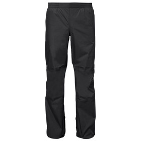 VAUDE Drop II Broek Heren, black uni